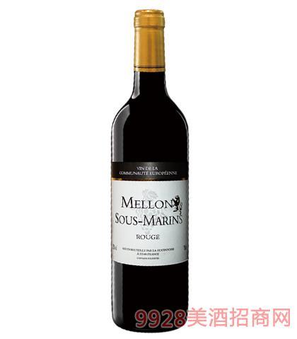 法国美隆干红葡萄酒12%vol