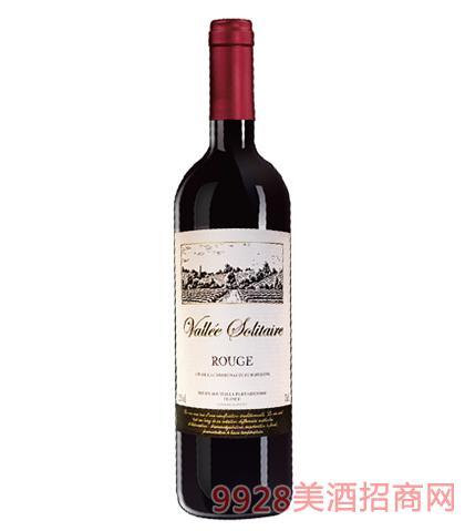 法国寂静谷干红葡萄酒12%vol