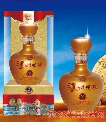 泸州特酿酒鉴智9(黄)-38度42度52度500ml浓香型