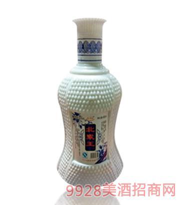 北粱王酒白瓷瓶