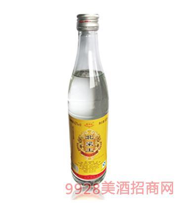 北粱王酒黄标