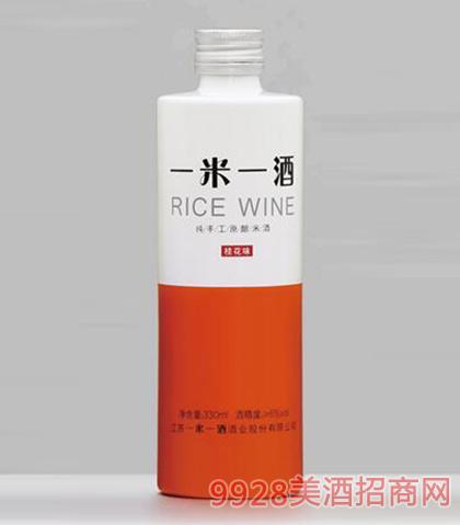 一米一酒桂花味米酒330ml