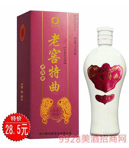 新郎新老窖特曲酒专酿珍品42度450ml浓香型