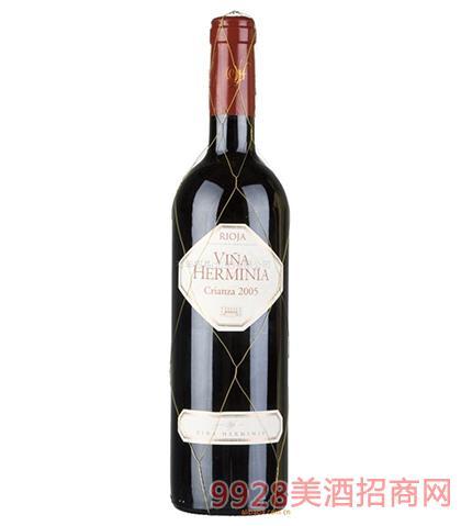 西班牙艾迷娜陈酿干红葡萄酒