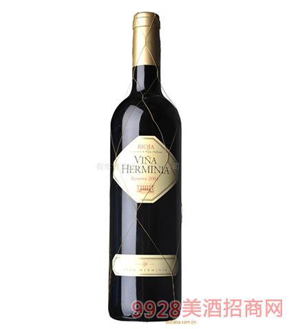 西班牙艾迷娜陈酿窖藏干红葡萄酒
