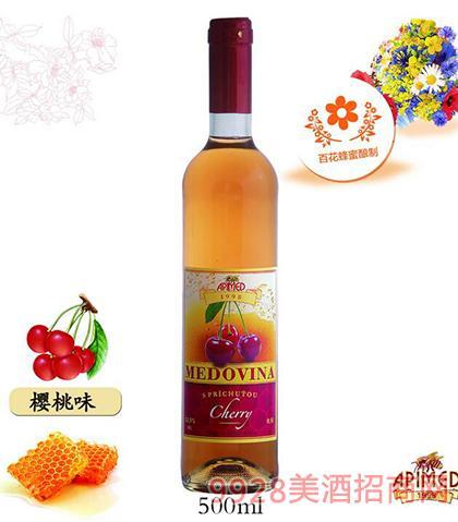 祯美蜂蜜酒樱桃味500mL