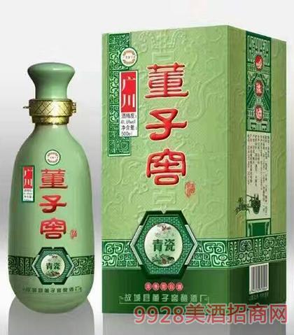董子窖酒青瓷41.6度500ml浓香型