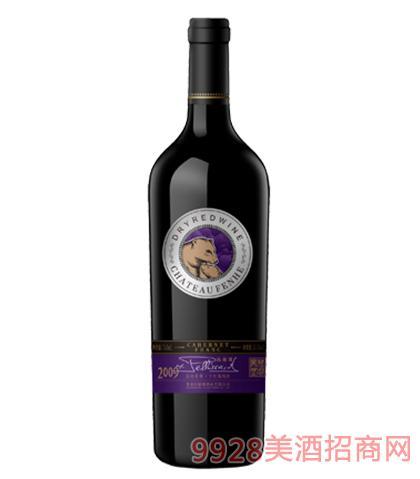 芬河帝堡品丽珠干红葡萄酒13.5%vol