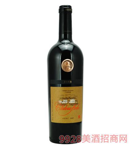 芬河帝堡赤霞珠干红葡萄酒14%vol