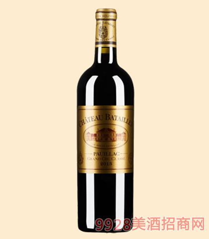 巴特利城堡红葡萄酒13度