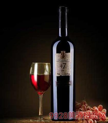 +7精选红葡萄酒14.5度