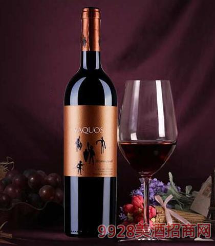 瓦科斯珍藏红葡萄酒14度