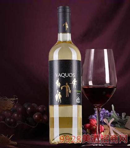 瓦科斯白葡萄酒14度