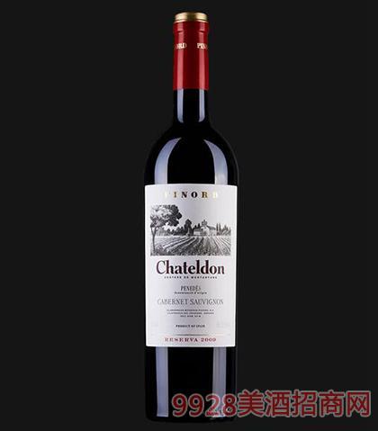 夏德隆珍藏赤霞珠红葡萄酒13.5度