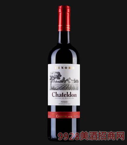 夏德隆品诺德丹魄红葡萄酒12.5度