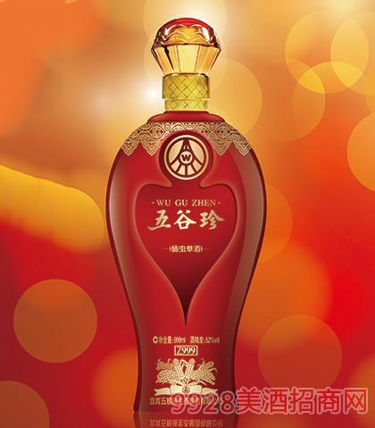 五谷珍蛹虫草酒Z999-52度999ml 宜宾五粮液生态酿酒有限公司出品