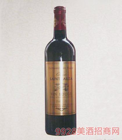 法国圣罗兰干红葡萄酒12%vol
