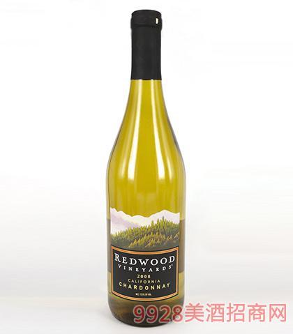 红杉谷莎当妮干白葡萄酒12.86度750ml