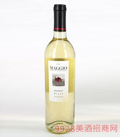 马吉奥长相思干白葡萄酒13.5度750ml
