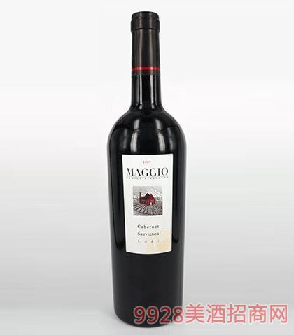 马吉奥赤霞珠干红葡萄酒12.8度750ml