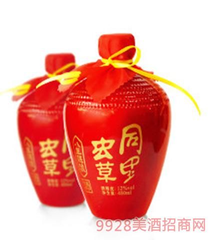 同里红红虫草黄酒12度480ml