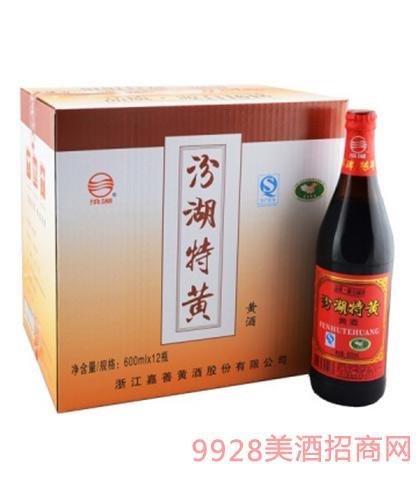汾湖特黄黄酒13.8度600mlx12