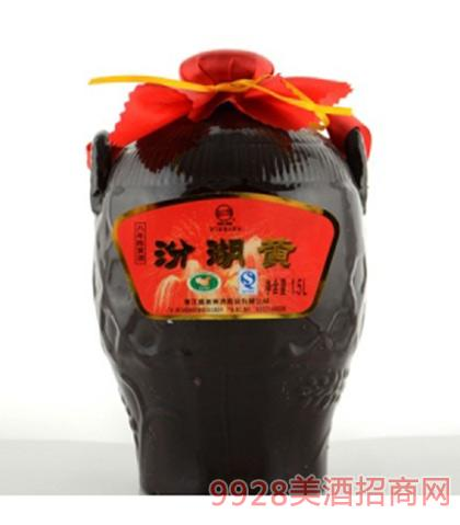 汾湖黄八年陈黄酒12度1.5Lx4