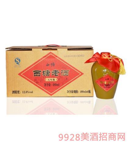 西塘老酒八年陈12度480mlx6