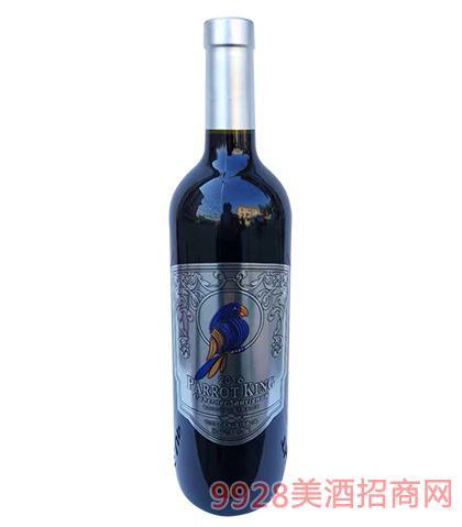 鹦鹉王长相思干红葡萄酒14度750ml