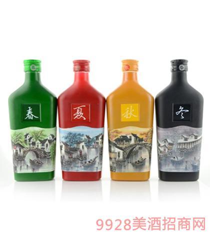 西塘四季十年黄酒12.8度1Lx6