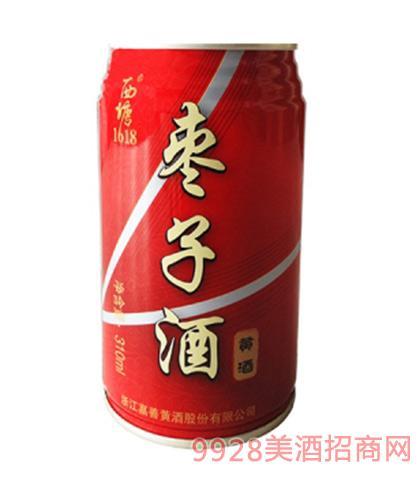 西塘黄酒枣子酒11度310mlx24