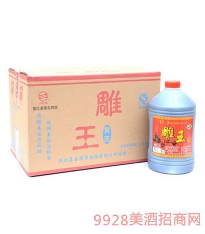 汾湖雕王黄酒15度2.5Lx6