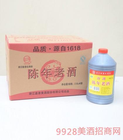 汾湖陈年老酒15度2.5Lx6