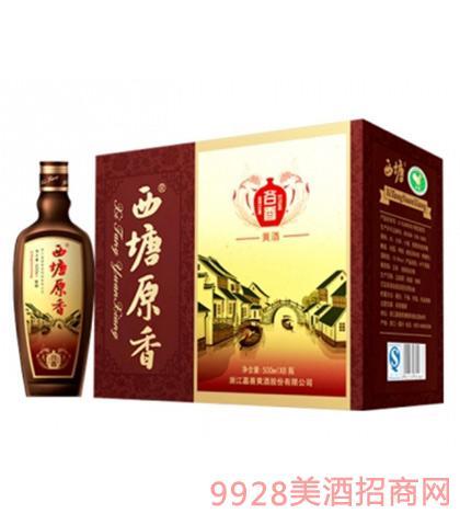 西塘原香黄酒谷香12度500mlx8