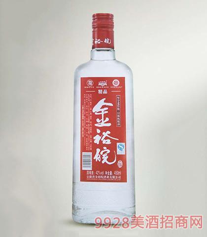 金裕皖酒红精品42度450ml浓香型白酒