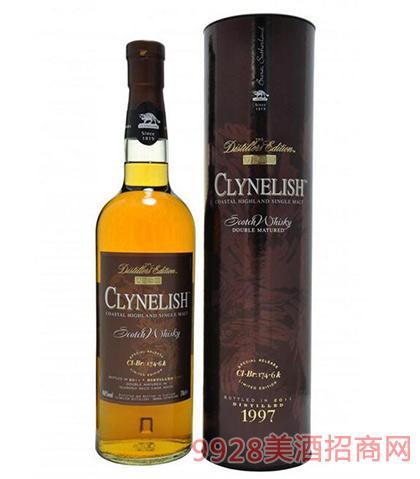 克里尼利基酒厂限量版威士忌46%vol700ml