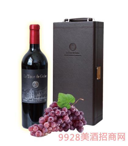 法国吉斯圣堡干红葡萄酒14.5度750ml