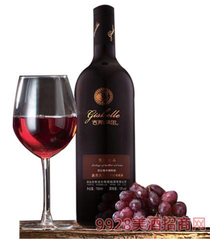 浓情波尔西拉干红葡萄酒750ml