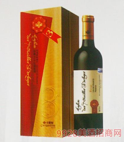 卡斯特戴维斯珍藏3红葡萄酒12度750ml