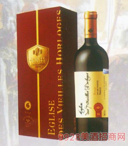 卡斯特戴维斯珍藏6干红葡萄酒12度750ml