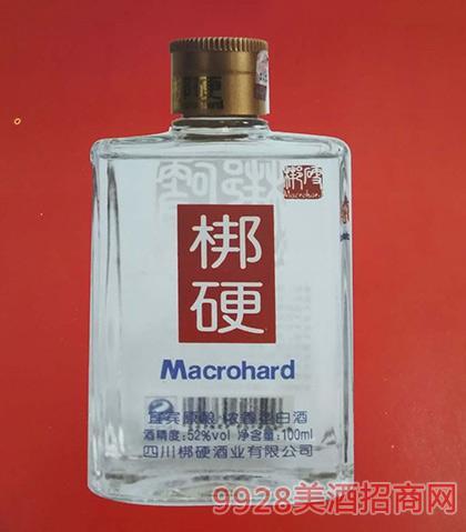 梆硬酒52度100ml浓香型白酒