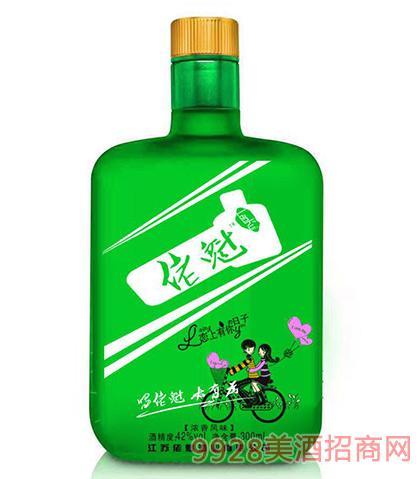 佬魁酒(绿瓶)42度300ml浓香型