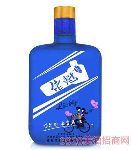 佬魁酒(蓝瓶)42度125ml浓香型