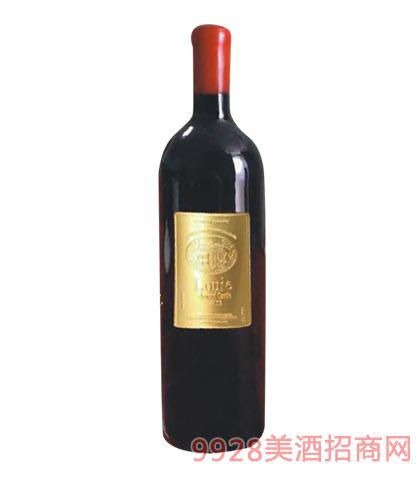 法国陆易艾诺安城堡美乐干红葡萄酒750ml