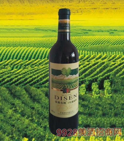 帝森有机干红葡萄酒750ml