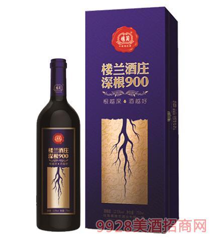 楼兰酒庄深根900干红葡萄酒