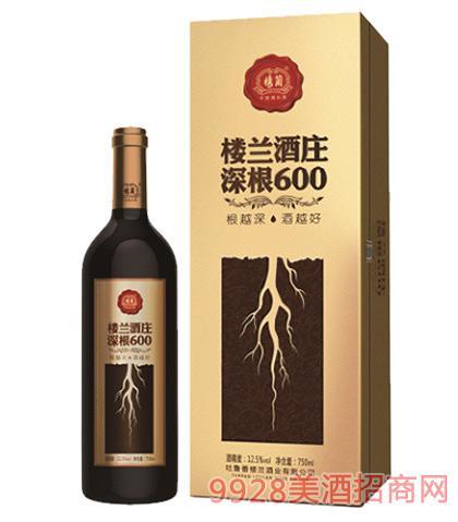 楼兰酒庄深根600干红葡萄酒