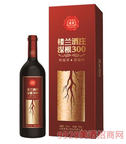 楼兰酒庄深根300干红葡萄酒
