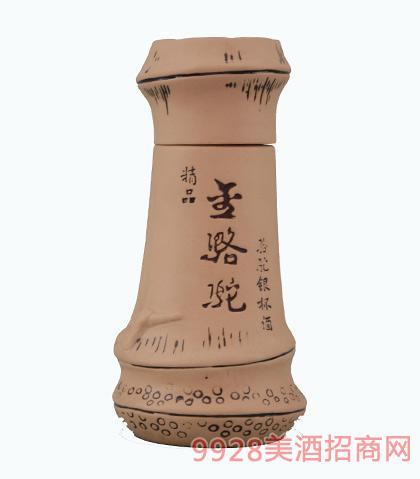金骆驼酒精品银杯酒 清香型白酒