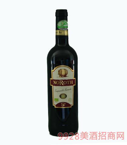 诺洛斯有机干红葡萄酒750ml